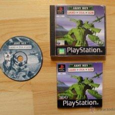 Videojuegos y Consolas: ARMY MEN LAND SEA AIR JUEGO PLAYSTATION 1 EDICIÓN ESPAÑOLA PS1 PSX. Lote 45195015