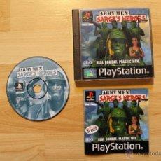 Videojuegos y Consolas: ARMY MEN SARGE'S HEROES JUEGO PLAYSTATION 1 EDICIÓN ESPAÑOLA PS1 PSX. Lote 45195020