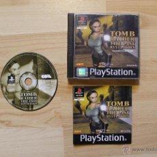 Videojuegos y Consolas: TOMB RAIDER THE LAST REVELATION JUEGO PLAYSTATION 1 EDICIÓN ESPAÑOLA PS1 PSX. Lote 41138330