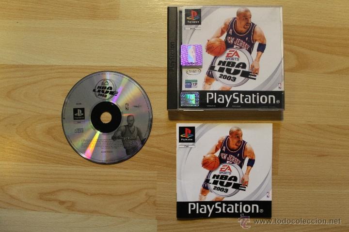 NBA LIVE 2003 JUEGO PLAYSTATION 1 EDICIÓN ESPAÑOLA PS1 PSX (Juguetes - Videojuegos y Consolas - Sony - PS1)