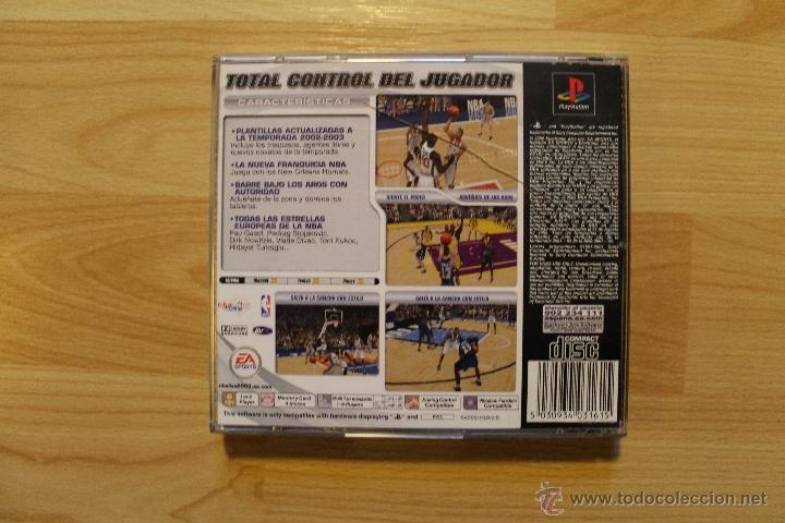 Videojuegos y Consolas: NBA LIVE 2003 JUEGO PLAYSTATION 1 EDICIÓN ESPAÑOLA PS1 PSX - Foto 3 - 173635739
