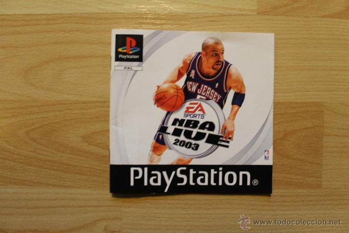 Videojuegos y Consolas: NBA LIVE 2003 JUEGO PLAYSTATION 1 EDICIÓN ESPAÑOLA PS1 PSX - Foto 4 - 173635739