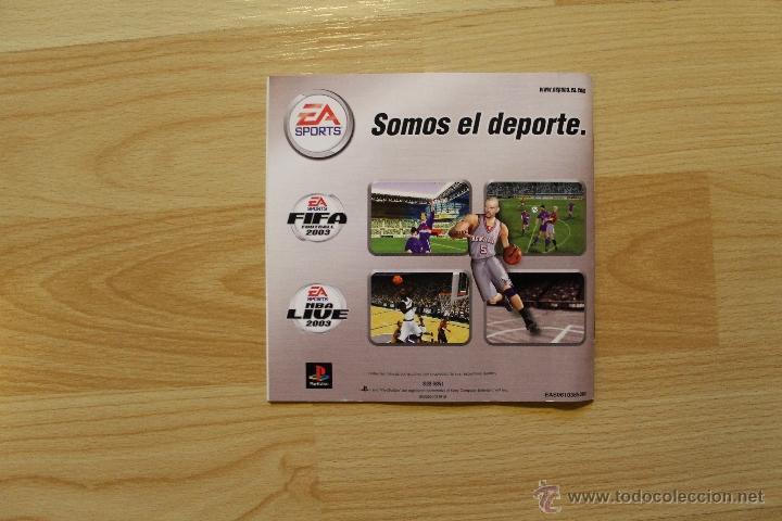 Videojuegos y Consolas: NBA LIVE 2003 JUEGO PLAYSTATION 1 EDICIÓN ESPAÑOLA PS1 PSX - Foto 5 - 173635739