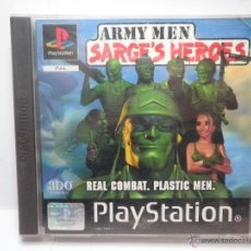 Videojuegos y Consolas: ARMY MEN SARGE'S HEROES - PLAYSTATION 1 - PS1. Lote 41235298