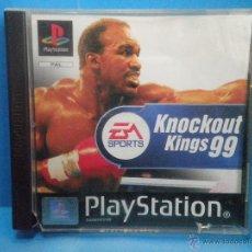 Videojuegos y Consolas: JUEGO PS1 PLAYSTATION 1 KNOCKOUT KINGS 99. Lote 42978216