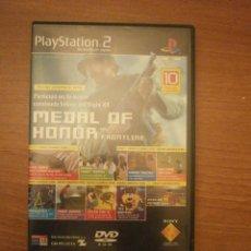 Videojuegos y Consolas: PLAY STATION 2 - DEMO JUGABLE -Nº 01- MEDAL OF HONOR - 10 DEMOS JUGABLES . Lote 43058971