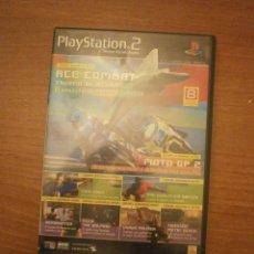 Videojuegos y Consolas: PLAY STATION 2 - DEMO JUGABLE -Nº 01-ACE COMBAT - 8 DEMOS JUGABLES . Lote 43059028