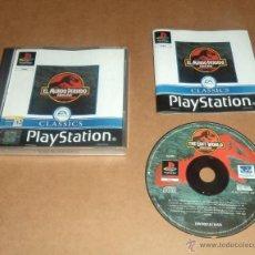 Videojuegos y Consolas: JURASSIC PARK : EL MUNDO PERDIDO PARA SONY PLAYSTATION / PS1 , PAL. Lote 43861945