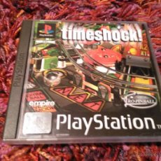 Videojuegos y Consolas: PS1 PSX PLAY STATION TIMESHOCK PAL CASTELLANO. Lote 43960451