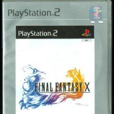 Videojuegos y Consolas: FINAL FANTASY X (COMO NUEVO Y COMPLETO). Lote 44010635