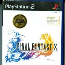 Videojuegos y Consolas: FINAL FANTASY X (COMO NUEVO Y COMPLETO) DISCO DVD BONUS INCLUÍDO. Lote 44010805