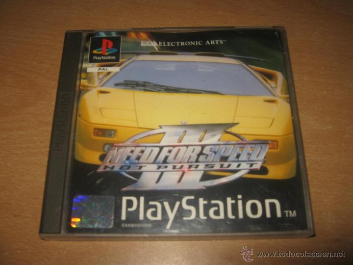 Need For Speed Iii Hot Pursuit Psx Playstation Sold Through