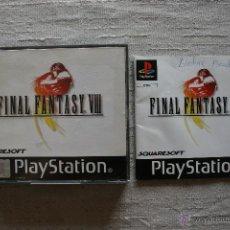 Videojuegos y Consolas: FINAL FANTASY VIII PS1 COMPLETO PLAYSTATION PSX. Lote 95584294
