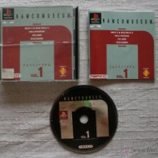 Videojuegos y Consolas: NAMCO MUSEUM VOL. 1 PLAYSTATION COMPLETO PSX. Lote 45172847