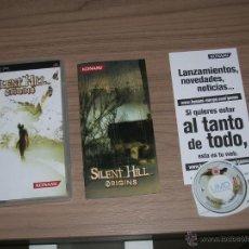 Videojuegos y Consolas: SILENT HILL ORIGINS COMPLETO SONY PSP PAL ESPAÑA CASTELLANO. Lote 45556153
