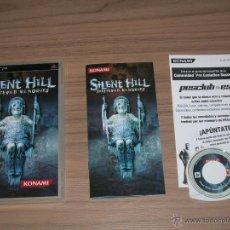 Videojuegos y Consolas: SILENT HILL SHATTERED MEMORIES COMPLETO SONY PSP PAL ESPAÑA CASTELLANO NUEVO PRECINTADO. Lote 77673058