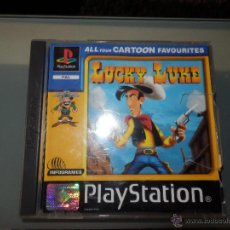 Videojuegos y Consolas: LUCKY LUKE PLAYSTATION UNO PS 1 PLAY STATION 1 COMPLETO. Lote 45610800