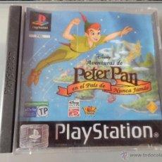 Videojuegos y Consolas: JUEGO CONSOLA PLAY STATION 1 PLAYSTATION PS 1 DISNEY PETER PAN EN EL PAIS DEL NUNCA JAMAS. Lote 69625557