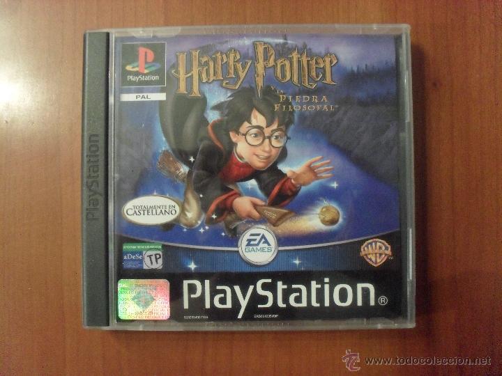 Juego Harry Potter Y La Piedra Filosofal Ps1 Buy Video Games And