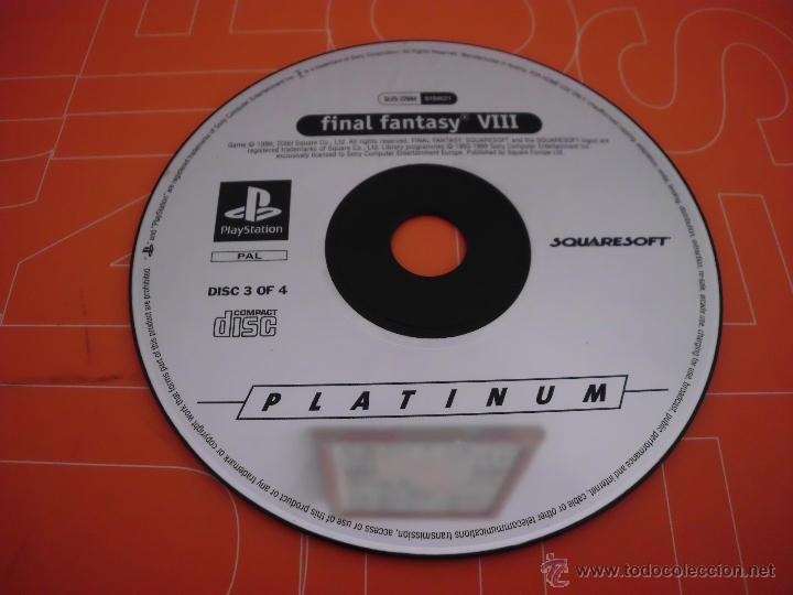 Videojuegos y Consolas: disco 3 del juego de playstation final fantasy viii 8 play station cd - Foto 1 - 46311252