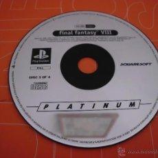 Videojuegos y Consolas: DISCO 3 DEL JUEGO DE PLAYSTATION FINAL FANTASY VIII 8 PLAY STATION CD. Lote 46311252