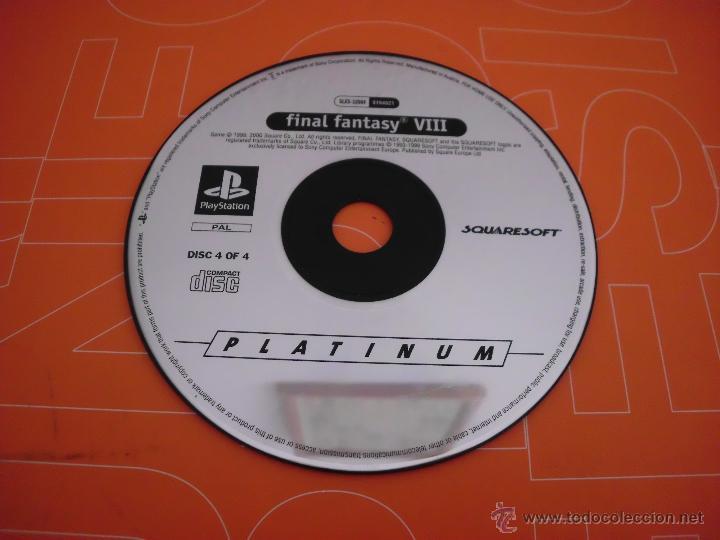 DISCO 4 DEL JUEGO DE PLAYSTATION FINAL FANTASY VIII 8 PLAY STATION CD (Juguetes - Videojuegos y Consolas - Sony - PS1)
