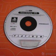 Videojuegos y Consolas: DISCO 4 DEL JUEGO DE PLAYSTATION FINAL FANTASY VIII 8 PLAY STATION CD. Lote 46311262