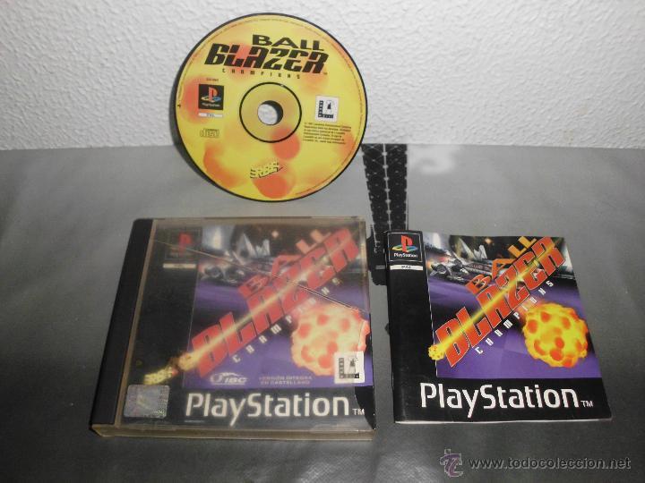 JUEGO DE PLAYSTATION BALL BLAZER CHAMPIONS PLAY STATION PSX PS1 (Juguetes - Videojuegos y Consolas - Sony - PS1)
