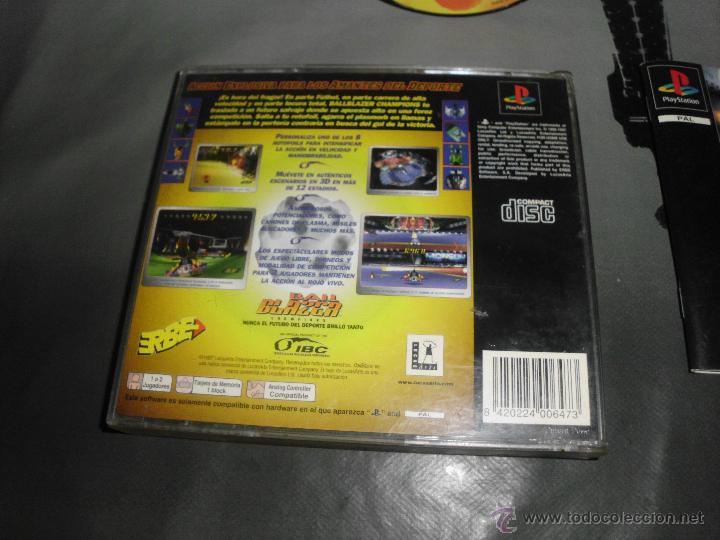 Videojuegos y Consolas: juego de playstation ball blazer champions play station psx ps1 - Foto 3 - 46360831