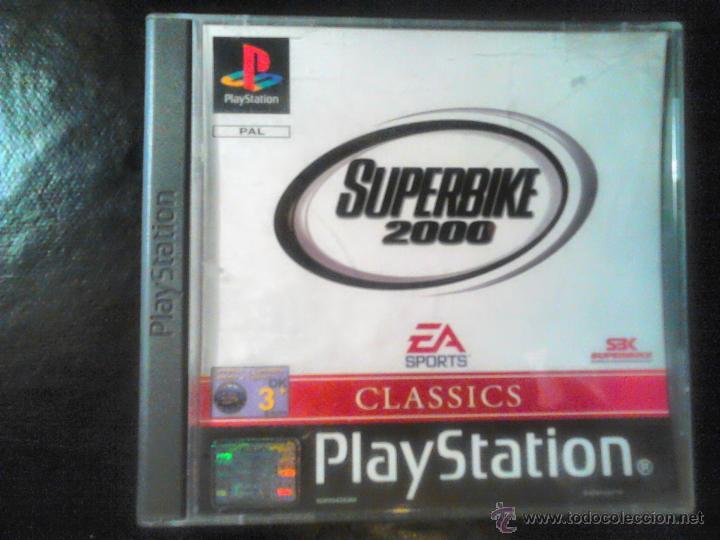 SUPERBIKE 2000 - JUEGO DE PLAYSTATION 1 Y 3 - EA SPORTS (Juguetes - Videojuegos y Consolas - Sony - PS1)