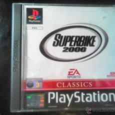 Videojuegos y Consolas: SUPERBIKE 2000 - JUEGO DE PLAYSTATION 1 Y 3 - EA SPORTS. Lote 46676056