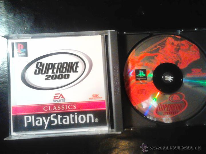 Videojuegos y Consolas: SUPERBIKE 2000 - JUEGO DE PLAYSTATION 1 Y 3 - EA sports - Foto 2 - 46676056