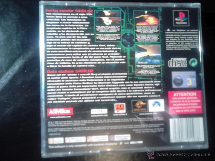 Videojuegos y Consolas: STAR TREK , INVASION - JUEGO PLAYSTATION 1 y 3 - Foto 2 - 46676120