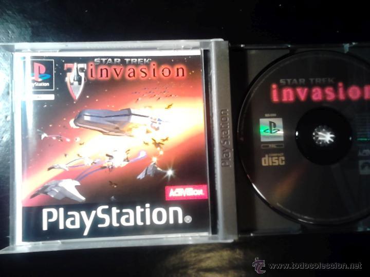 Videojuegos y Consolas: STAR TREK , INVASION - JUEGO PLAYSTATION 1 y 3 - Foto 3 - 46676120
