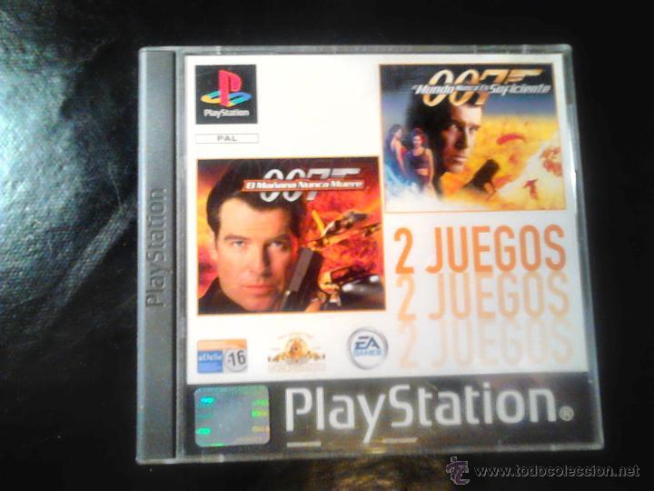 007 - PACK 2 JUEGOS PLAYSTATION 1 Y 3 - 2 DISCOS (Juguetes - Videojuegos y Consolas - Sony - PS1)