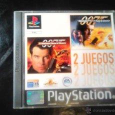 Videojuegos y Consolas: 007 - PACK 2 JUEGOS PLAYSTATION 1 Y 3 - 2 DISCOS. Lote 46676418