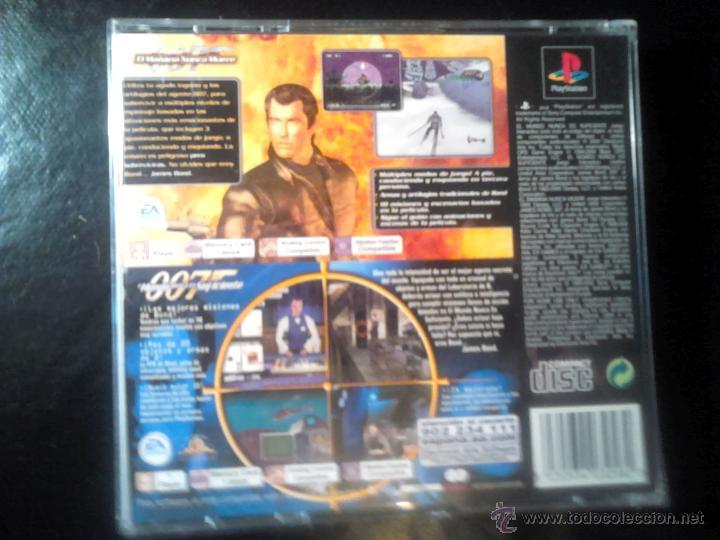 Videojuegos y Consolas: 007 - PACK 2 JUEGOS PLAYSTATION 1 y 3 - 2 DISCOS - Foto 2 - 46676418