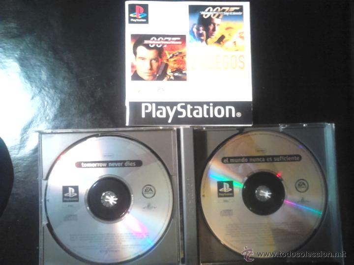 Videojuegos y Consolas: 007 - PACK 2 JUEGOS PLAYSTATION 1 y 3 - 2 DISCOS - Foto 3 - 46676418