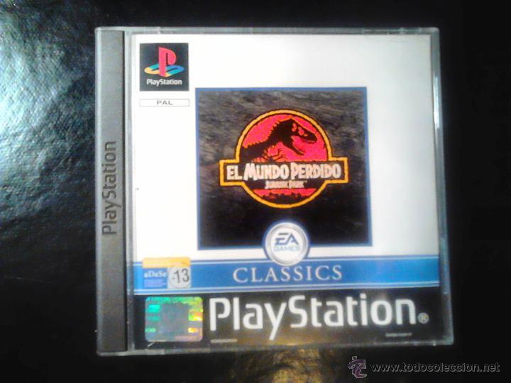 EL MUNDO PERDIDO , JURASSIC PARK - JUEGO DE PLAYSTATION 1 Y 3 (Juguetes - Videojuegos y Consolas - Sony - PS1)