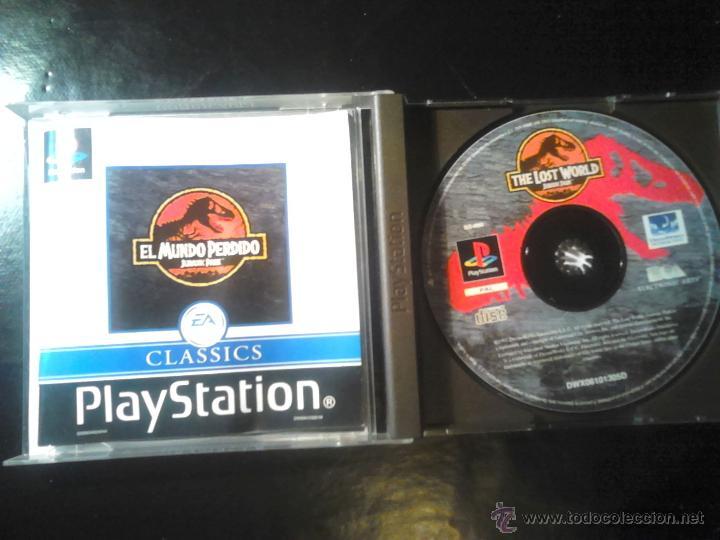 Videojuegos y Consolas: EL MUNDO PERDIDO , JURASSIC PARK - JUEGO DE PLAYSTATION 1 y 3 - Foto 3 - 46676495