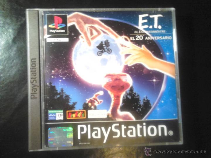 E.T. EL EXTRATERRESTRE (20 ANIVERSARIO) , MISIÓN INTERPLANETARIA - JUEGO PLAYSTATION 1 Y 3 (Juguetes - Videojuegos y Consolas - Sony - PS1)