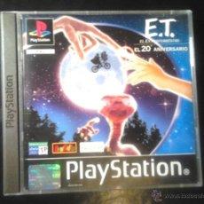 Videojuegos y Consolas: E.T. EL EXTRATERRESTRE (20 ANIVERSARIO) , MISIÓN INTERPLANETARIA - JUEGO PLAYSTATION 1 Y 3. Lote 65819434