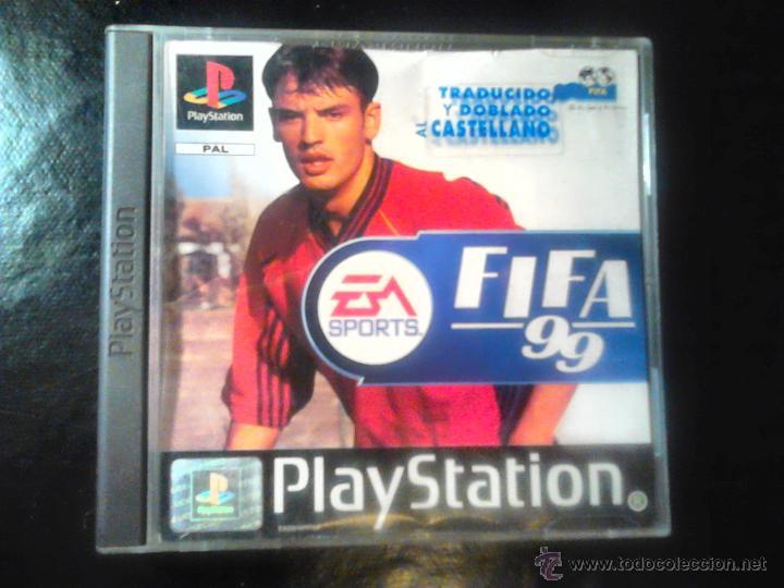 FIFA 99 - EA SPORTS - JUEGO PLAYSTATION 1 Y 3 (Juguetes - Videojuegos y Consolas - Sony - PS1)