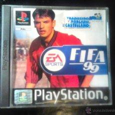 Videojuegos y Consolas: FIFA 99 - EA SPORTS - JUEGO PLAYSTATION 1 Y 3. Lote 46676570