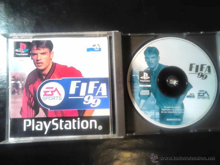 Videojuegos y Consolas: FIFA 99 - EA Sports - JUEGO PLAYSTATION 1 y 3 - Foto 3 - 46676570