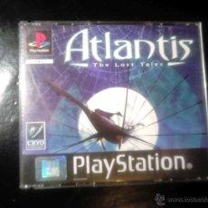 Videojuegos y Consolas: ATLANTIS , THE LOST TALES - JUEGO PLAYSTATION 1 Y 3 - 3 DISCOS. Lote 46677711