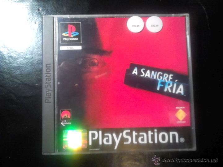 A SANGRE FRÍA - JUEGO PLAYSTATION 1 Y 3 - 2 DISCOS (Juguetes - Videojuegos y Consolas - Sony - PS1)