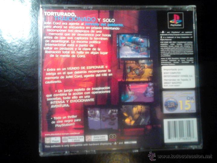 Videojuegos y Consolas: A SANGRE FRÍA - JUEGO PLAYSTATION 1 y 3 - 2 DISCOS - Foto 3 - 46677842