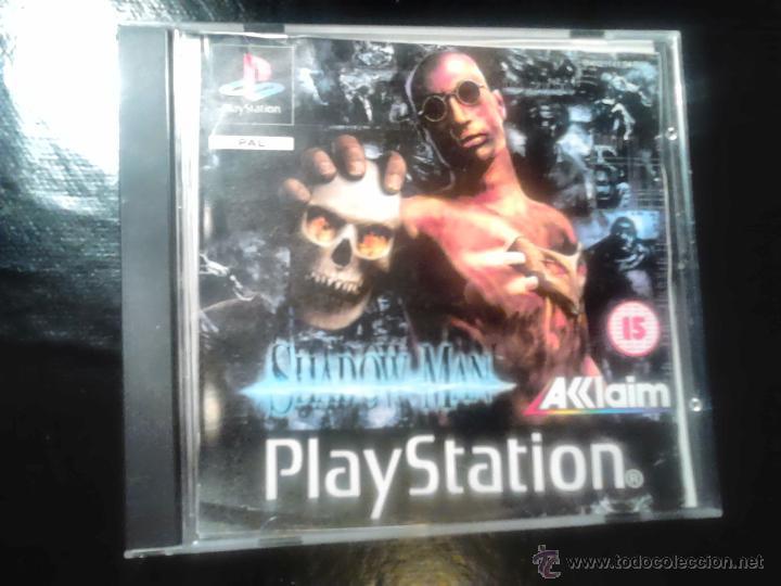 SHADOW MAN - JUEGO PLAYSTATION 1 Y 3 (Juguetes - Videojuegos y Consolas - Sony - PS1)