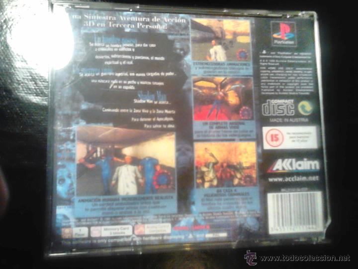 Videojuegos y Consolas: SHADOW MAN - JUEGO PLAYSTATION 1 y 3 - Foto 3 - 65819458